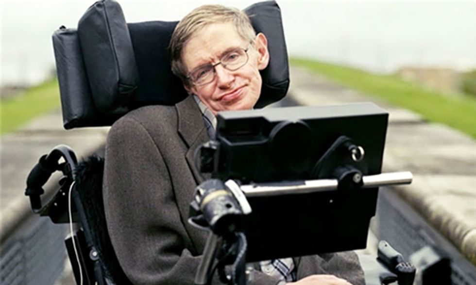 Stephen Hawking: One Thing Threatens Us More Than Donald Trump ... Climate Change