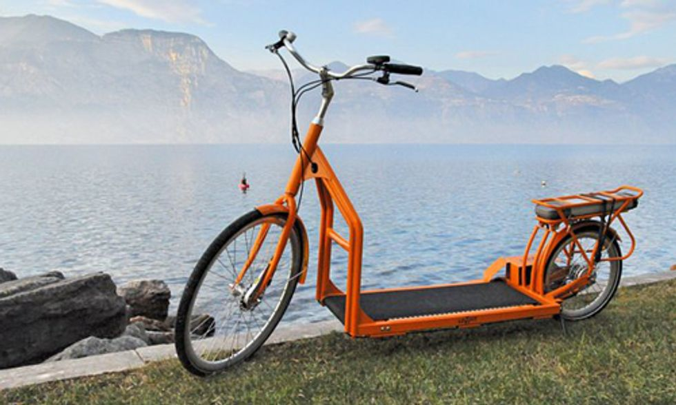 Meet the World's First Electric Walking Bike