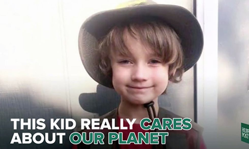 This 6-Year-Old Has a Message for People Who Are Rude to the Planet