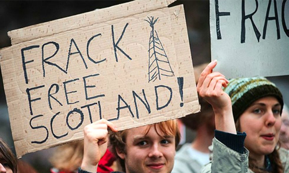 Scottish Parliament Passes Motion in Support of Outright Fracking Ban