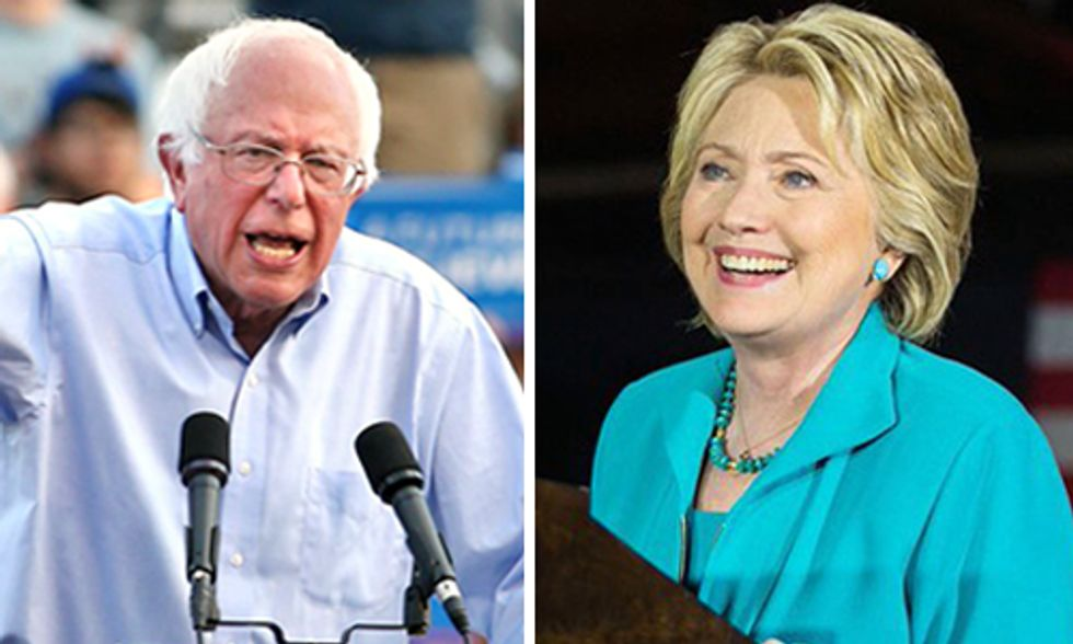 Sanders Touts Fracking Ban as Clinton Pushes Renewables Plan Just Days Before California Primary