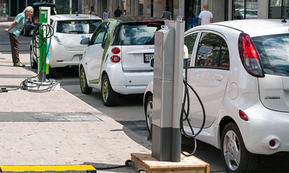 1 Million+ Electric Cars Are Now on the World's Roads