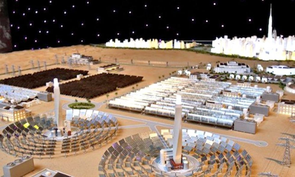 Dubai to Build World's Largest Concentrated Solar Power Plant