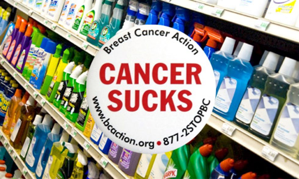 Chemical Safety Reform Bill Headed to Obama's Desk Lets Down Women With and at Risk of Breast Cancer