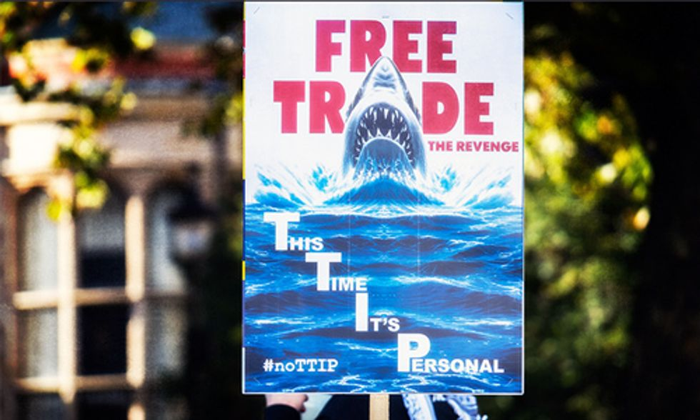 'Free Trade' Will Kill Progress on Climate Change, 450 Groups Warn Congress