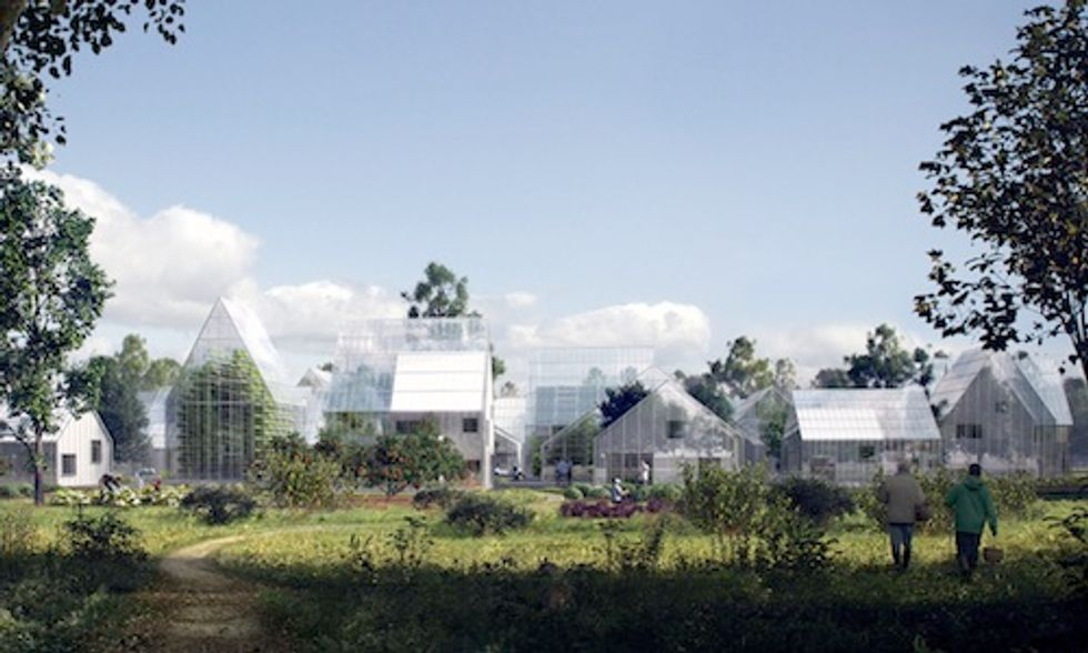 World's First Off-Grid ReGen Village Will Be Completely Self-Sufficient Producing Its Own Power and Food