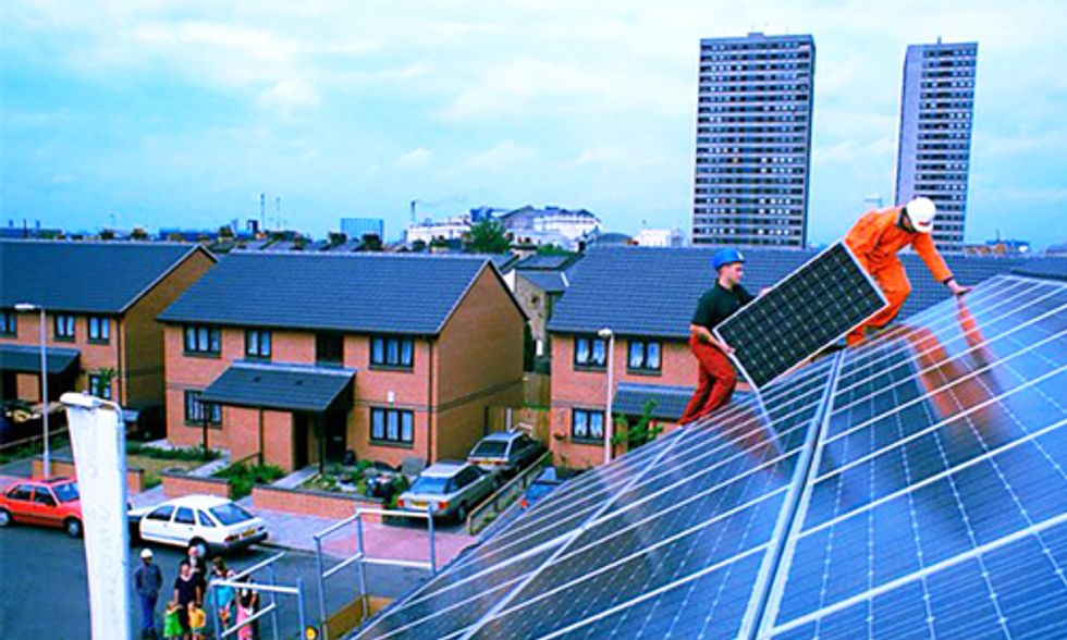 Solar Beats Coal for Entire Month in UK for First Time