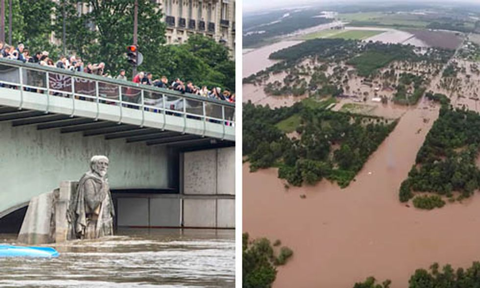 Flooding and Climate Change: French Acceptance, Texas Denial