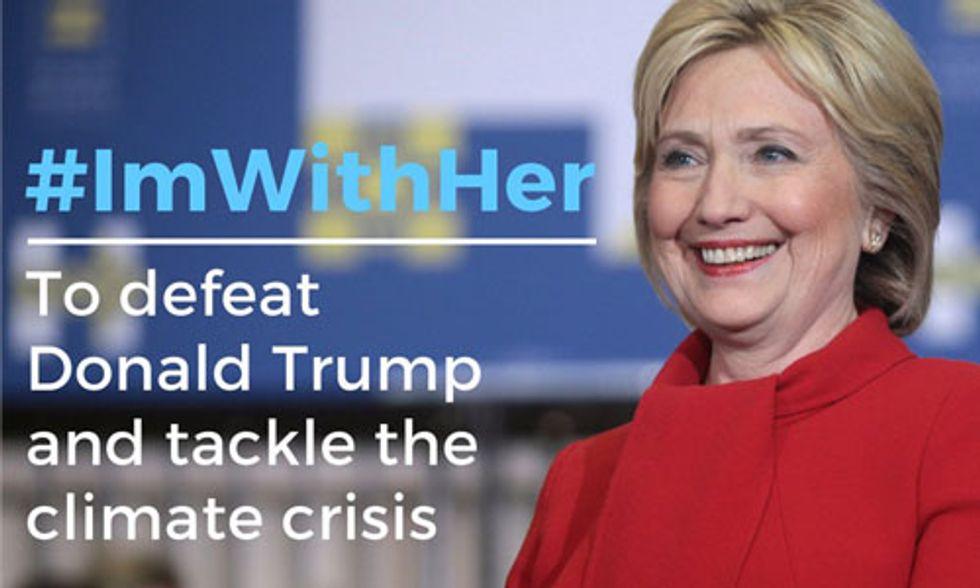 Sierra Club Endorses Hillary Clinton
