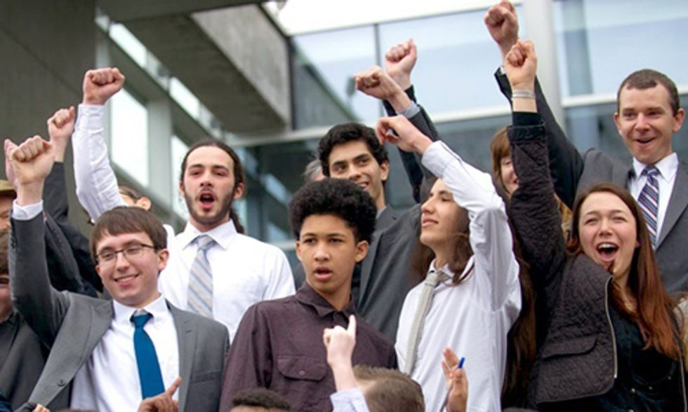 Kids Get Their Day in Court: 21 Youth Sue U.S. Government in Landmark Climate Lawsuit