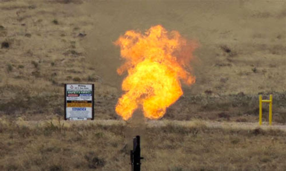 Whistleblower Says EPA Officials Covered Up Toxic Fracking Methane Emissions for Years