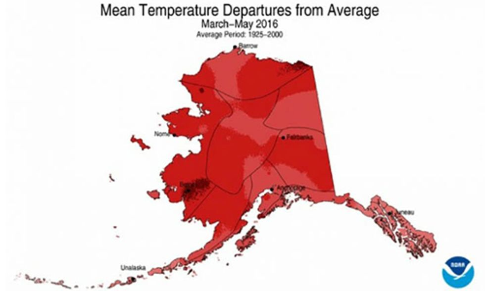 Alaska Is Having Hottest Year Since Records Began