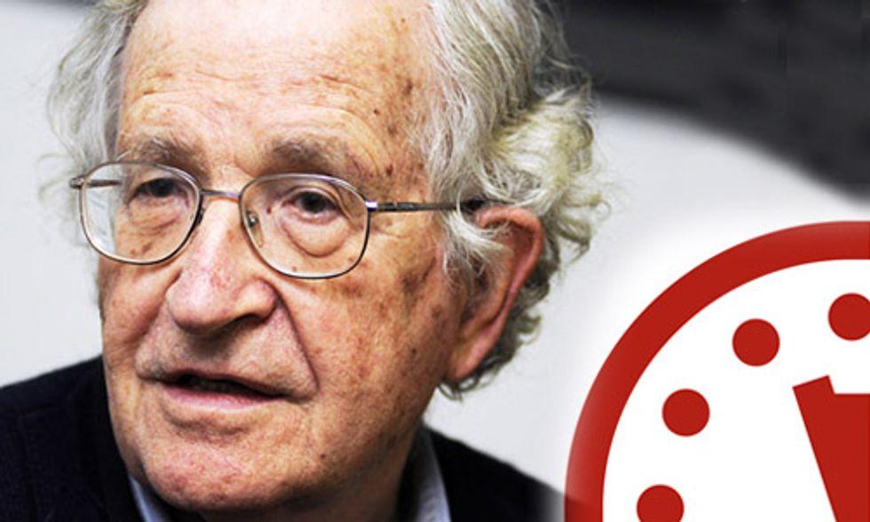 Noam Chomsky: The Doomsday Clock Is Nearing Midnight