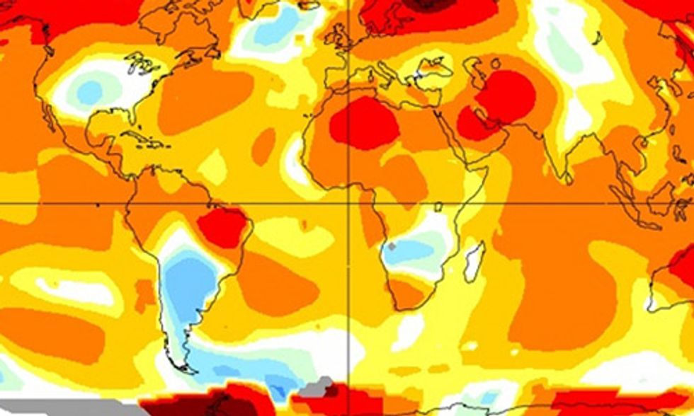 May Shatters Yet Another Monthly Heat Record as CO2 Levels Soar