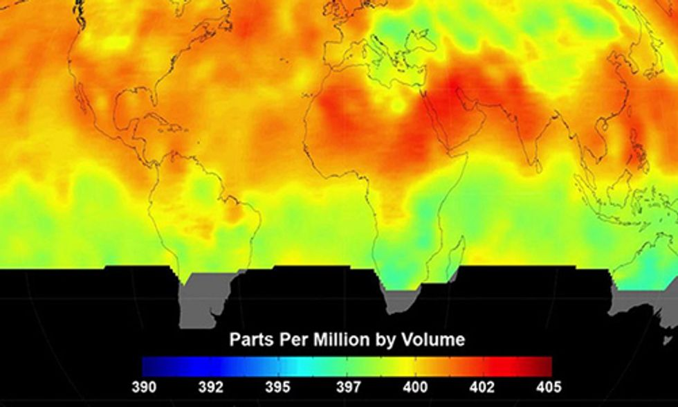 Carbon Dioxide Levels Set to Pass 400 ppm and Remain Above Symbolic Threshold Permanently