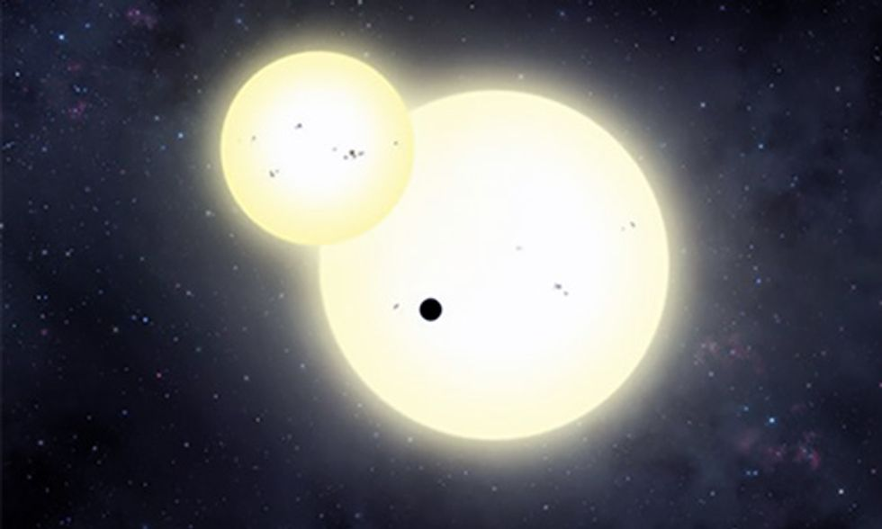 NASA Finds Enormous Planet 3,700 Light Years Away