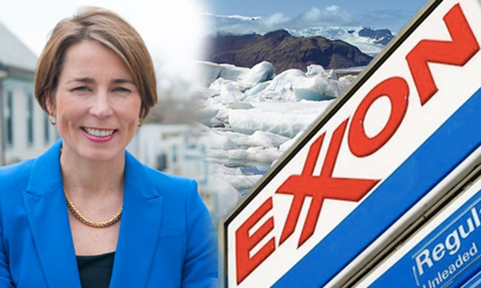 Exxon Sues Massachusetts Attorney General to Block Climate Fraud Investigation