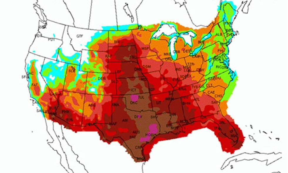 Dangerous Heat Wave to Grip the U.S.: 10 Ways to Survive Extreme Heat