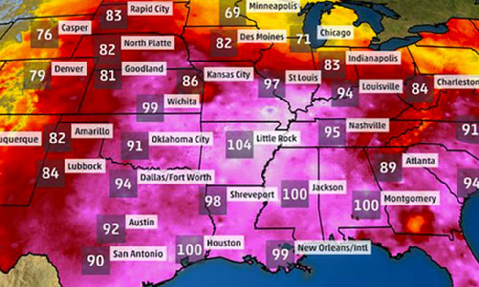 Extreme Heat to Sear Southwest, Plains: Phoenix Could Approach 120 Degrees