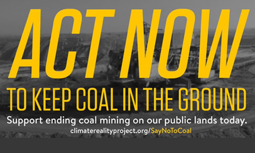 Help Put an End to Coal Mining on Public Lands