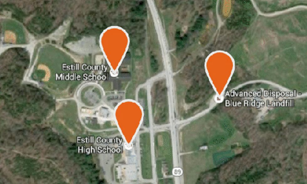 How Radioactive Fracking Waste Wound Up Near Homes and Schools
