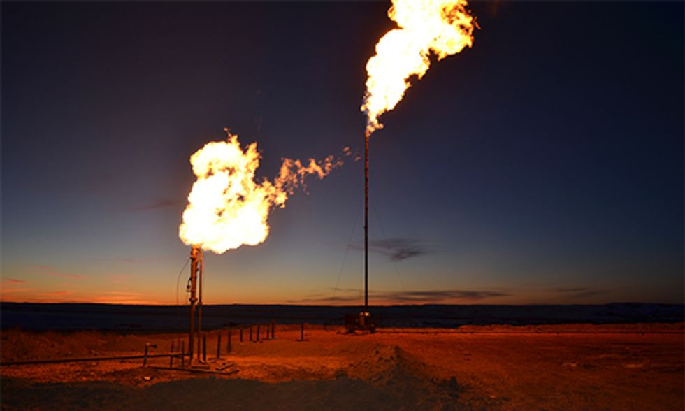 Methane Emissions From Onshore Oil and Gas Equivalent to 14 Coal Plants Powered for One Year