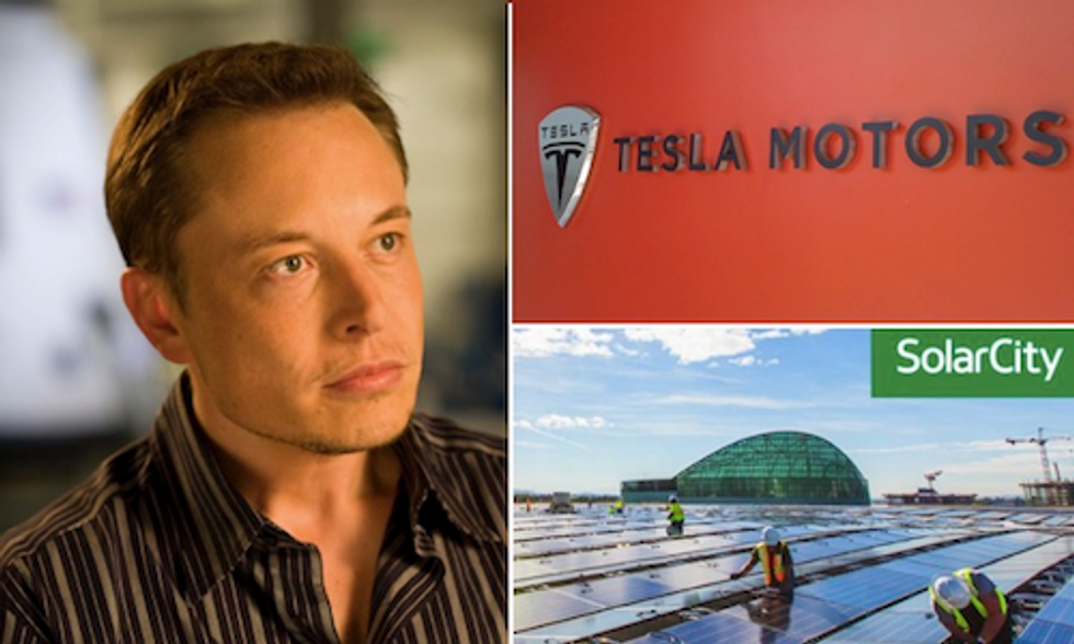 Tesla Makes $2.8 Billion Offer to Acquire SolarCity
