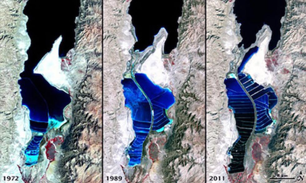 The Dead Sea is Shrinking at Alarming Rate, a Record Low-Point for Earth