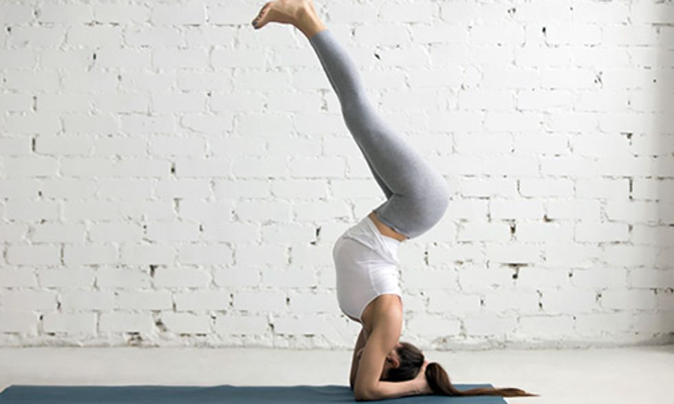 4 Yoga Inversions That Will Improve Your Health