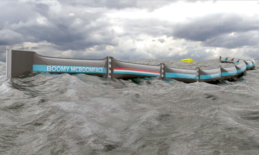 Boyan Slat's Ocean Cleanup Project Launches Historic First Prototype at Sea