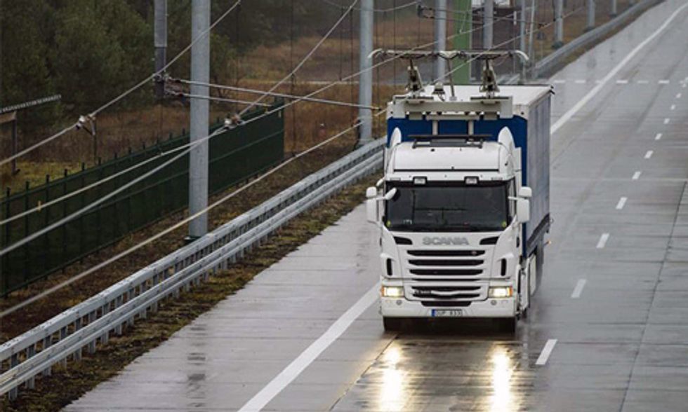 Sweden Opens World's First Electric Highway