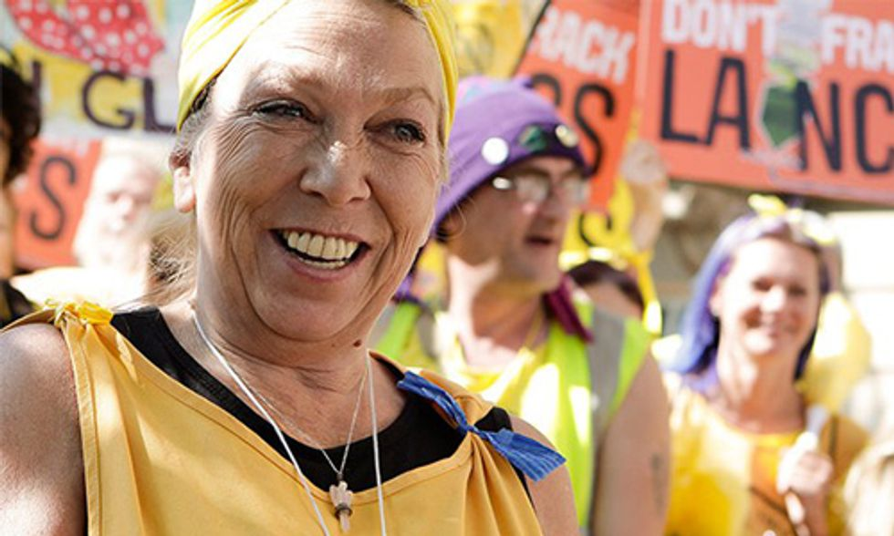 Will This Grandmother Go to Prison for Peaceful Resistance Against Fracking?