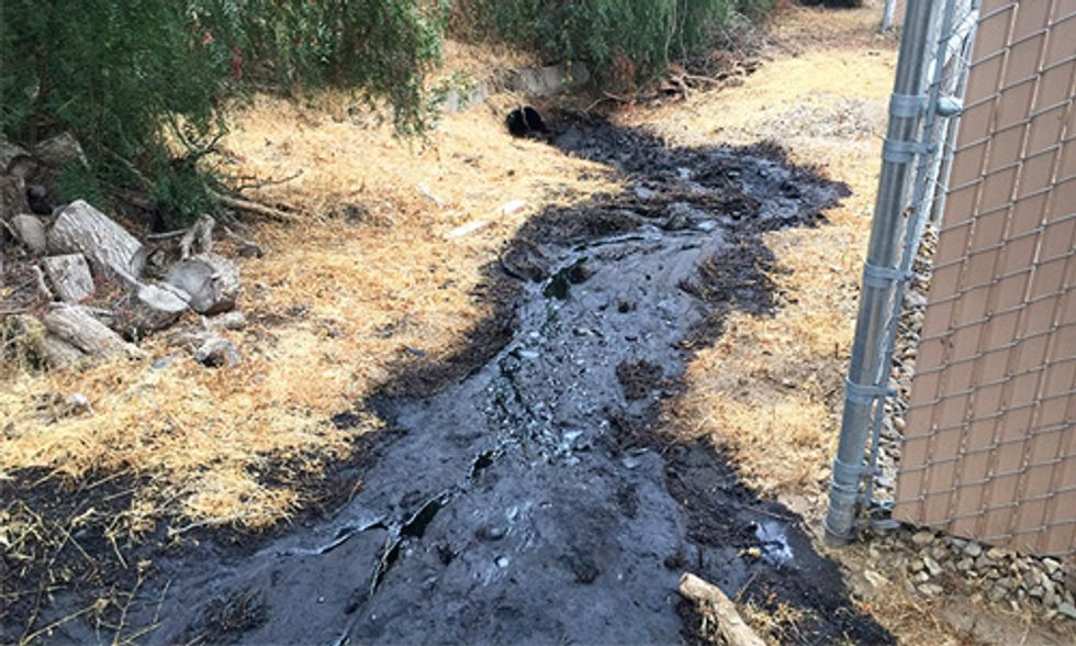 Pipeline Ruptures Spilling 29,000 Gallons of Oil, Just Hours After Obama Signs PIPES Act