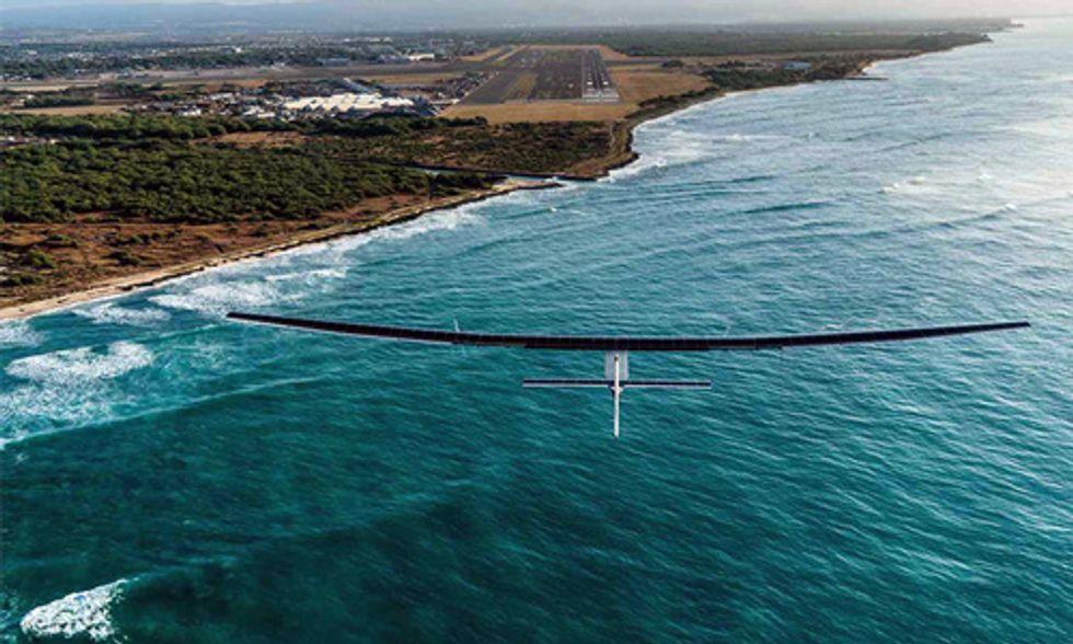 10 Incredible Photos of Solar Impulse 2's Flight Around the World