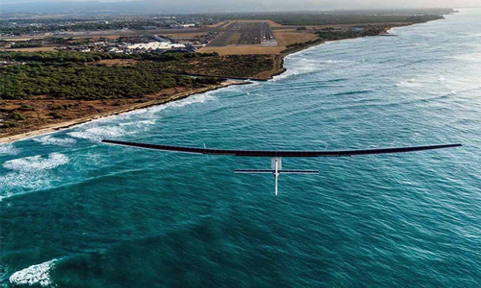 10 Incredible Photos of Solar Impulse 2's Flight Around the World