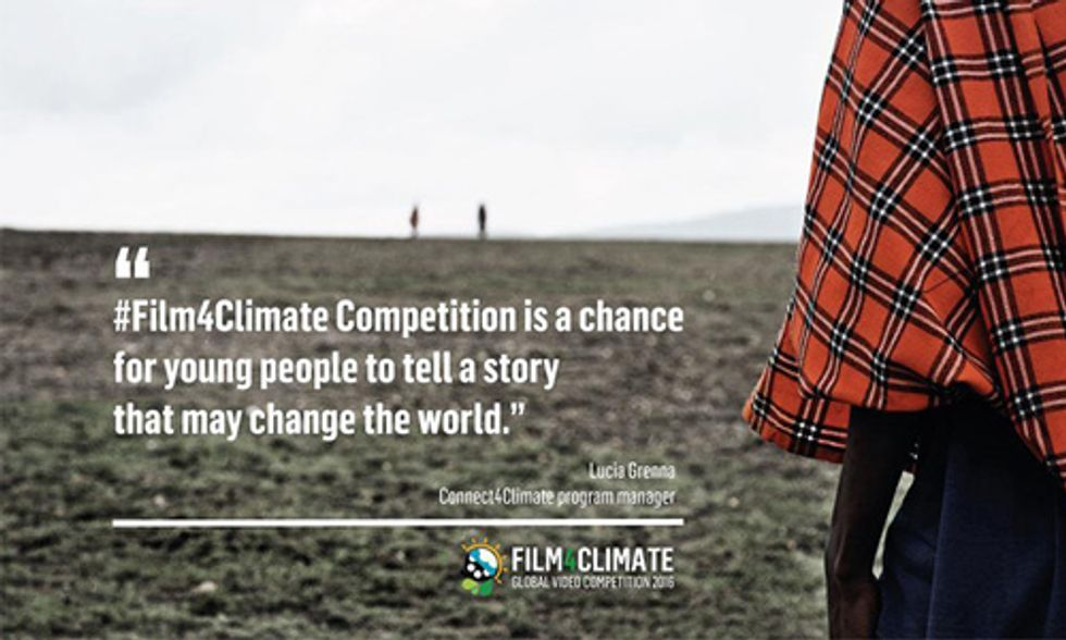 Film4Climate: Are You Ready to Tell a Story That May Change the World?