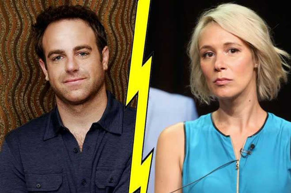 Shondaland Favorites Liza Weil And Paul Adelstein To Divorce