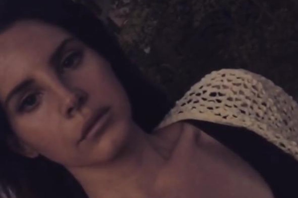 Lana Del Rey Posts the Most Lana Del Rey Instagram...Ever