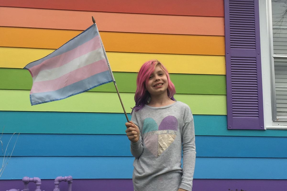 8 year-old Avery Jackson Opens 'Transgender House' Across the Street from Westboro Baptist Church