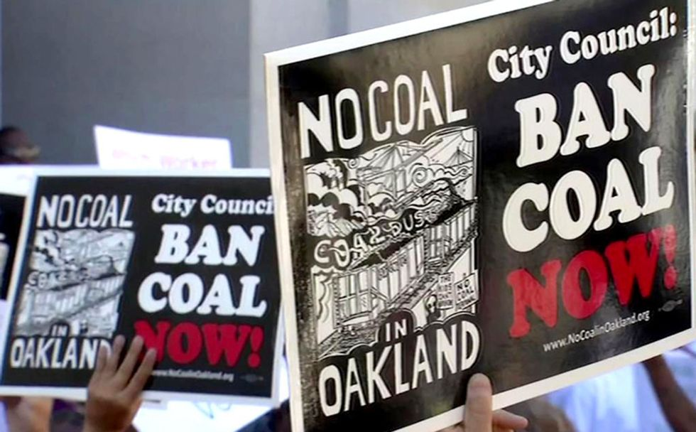 Oakland Bans Coal Exports, Huge Win for Local Residents