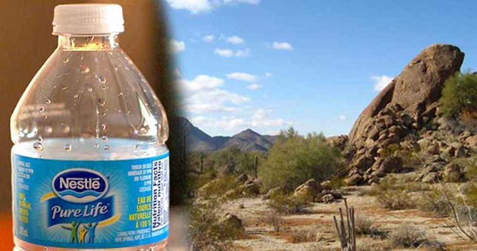 Nestlé Plans to Bottle Water From Drought-Stricken Phoenix