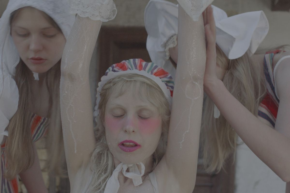 "PREMIERE: Watch Petite Meller's Oddly Erotic, Pastel-Colored Video For ""Milk Bath"""