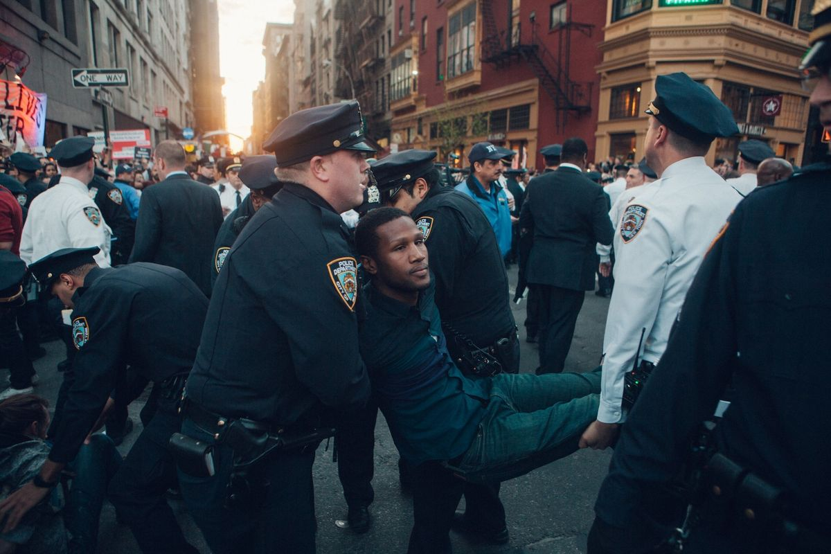 What To Expect When You're Expecting To Get Arrested At A Protest
