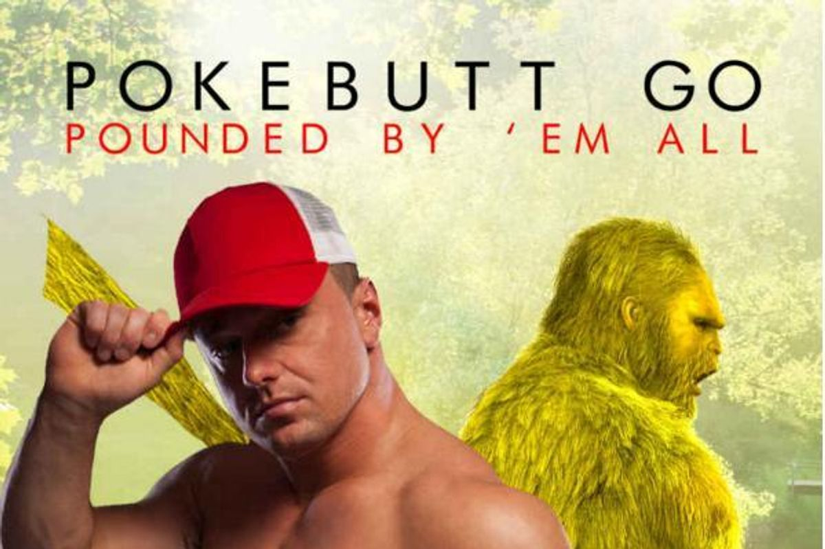 """Acclaimed Erotica Author Chuck Tingle Has Wasted No Time With New Book, """"Pokebutt Go: Pounded By 'Em All"""""""
