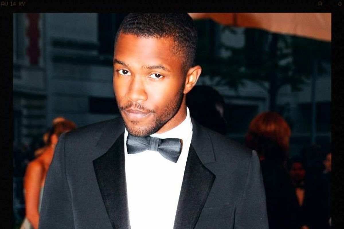 Frank Ocean Might Be Working on a Novel