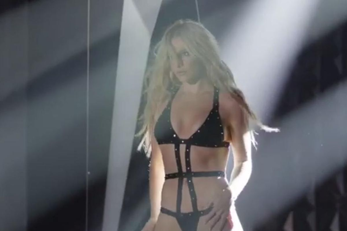 Watch the Teaser For Britney's New Perfume, Private Show