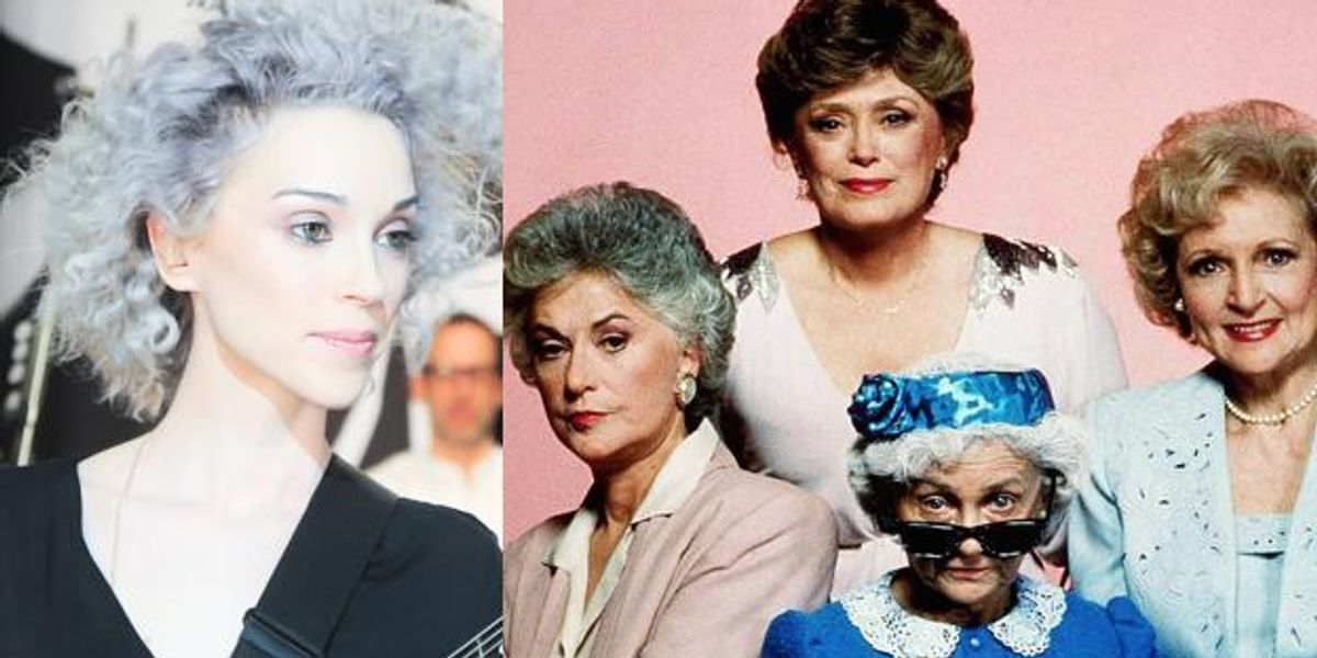 """Listen to St. Vincent's Haunting Cover of the """"Golden Girls"""" Theme Song"""