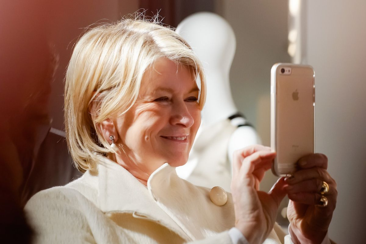 Martha Stewart's Advice For Troubled Millennials: Grow A Tomato Plant On Your Terrace