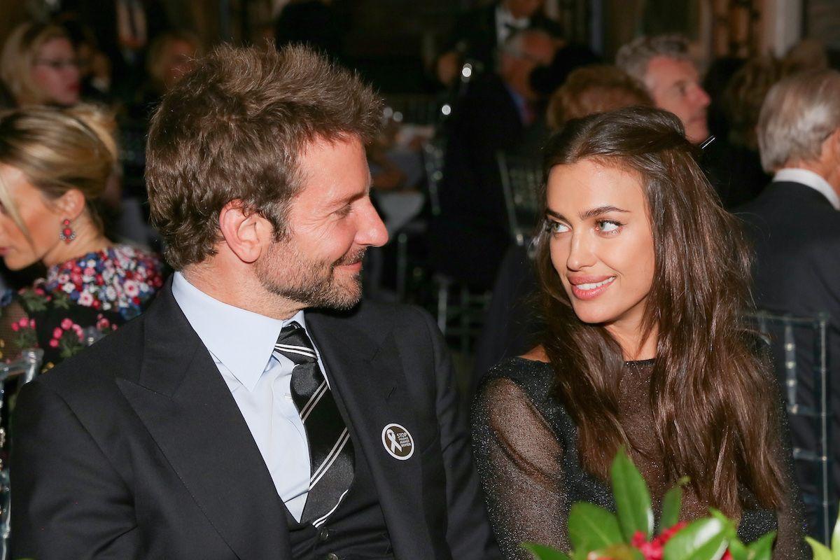 "Bradley Cooper and Irina Shayk Use the Ol' ""Pollen In Eyes"" Defense"