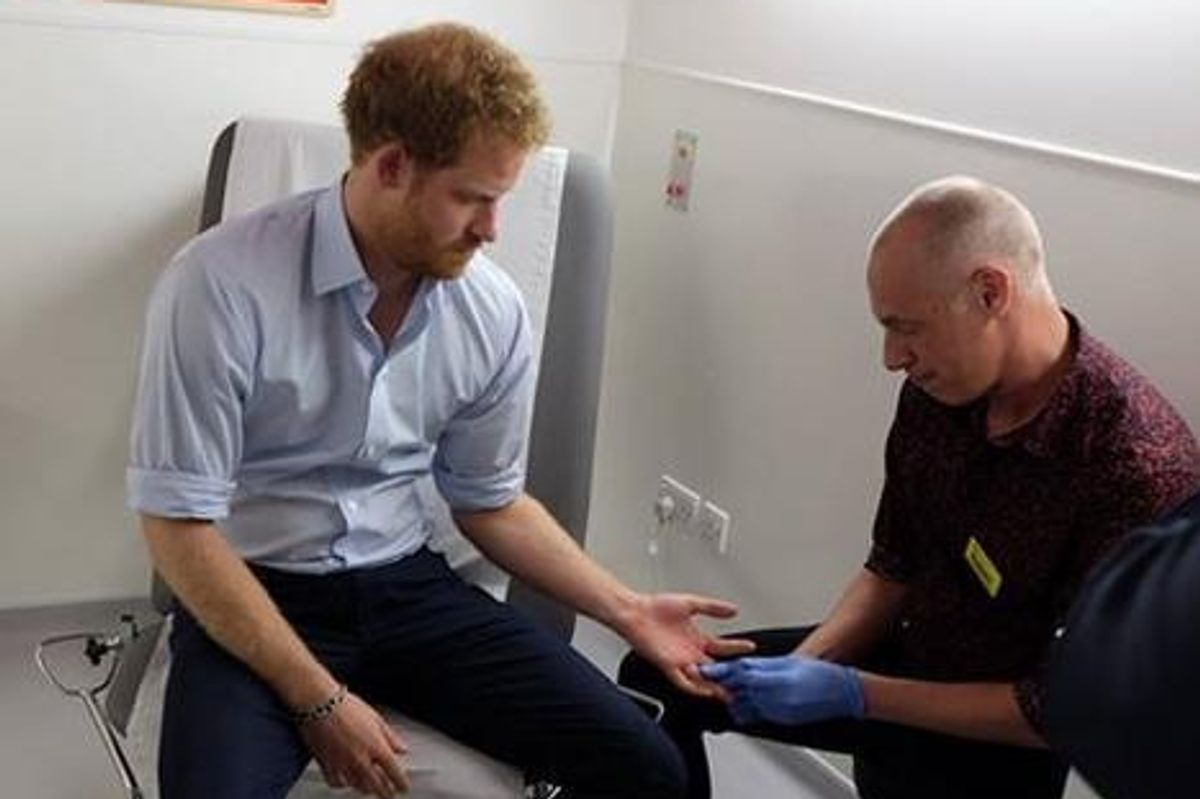 Prince Harry Gets HIV Test On Facebook Live